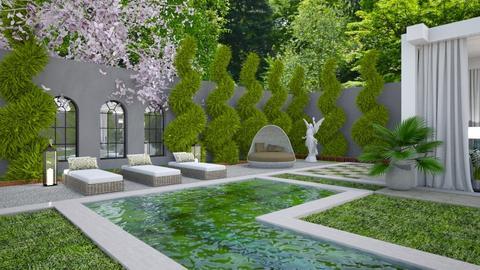 Garden Retreat 3 - Garden  - by Fofinha