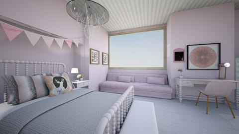 girlsbedroosimpleremix - Bedroom - by tahliawaters