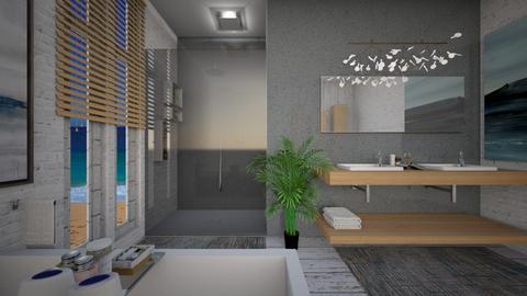 sea - Bathroom  - by allday08