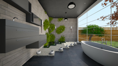 Future - Modern - Bathroom - by Sali15