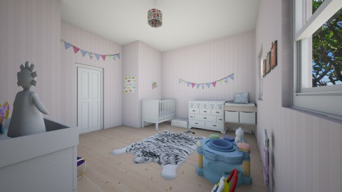 baby room - by InaasAzizah