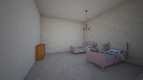 my world - Kids room  - by mayceealleri