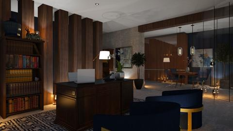 BLUE OFFICE - Office  - by zarky
