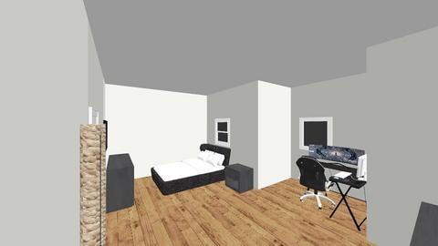 bradons room - Bedroom  - by brandon allende