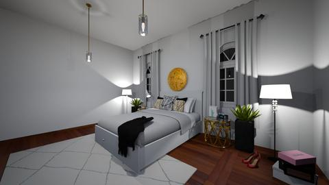 Modern Bedroom - Modern - Bedroom - by Aden050607