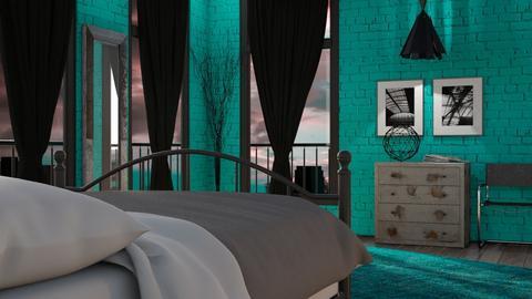 TM Bedroom - Bedroom - by GraceKathryn