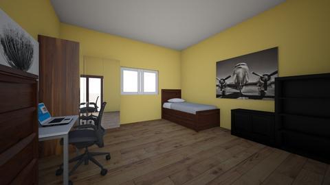 Camera Mea - Bedroom  - by Ioan Hentea