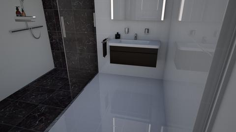 proyecto - Bathroom  - by sarafas