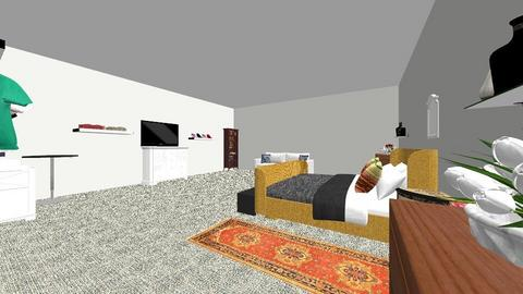 master master bed - Modern - Bedroom - by cnugget