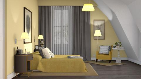 Rachel - Classic - Bedroom  - by Claudia Correia