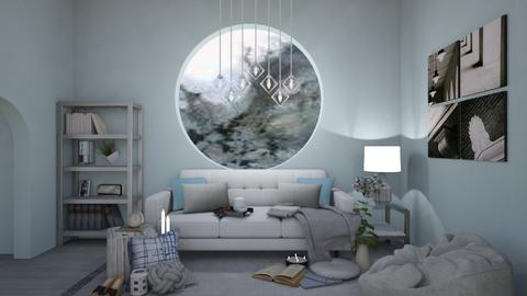 Stormy Day Hangout - Modern - Living room  - by Annalise_585333
