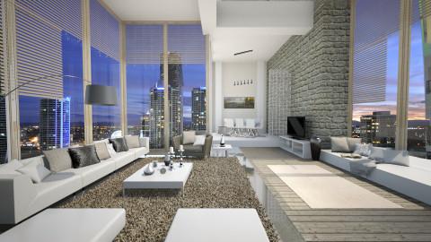home v - Modern - Living room  - by Senia N