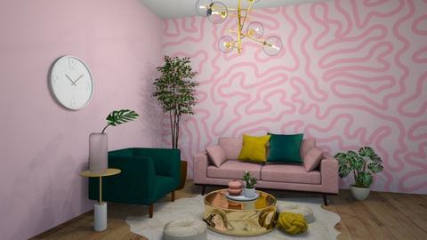 The Girls Room - Feminine - Bedroom  - by milk07Designs