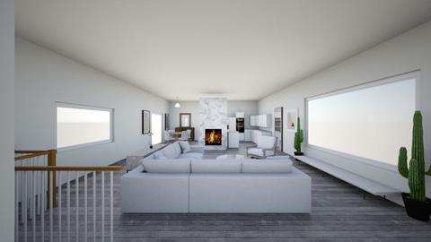 Maria Shields - Living room  - by deannaduba