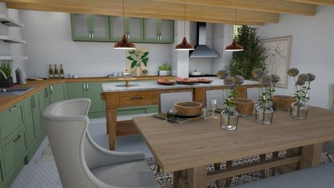 eclectic kitchen - Eclectic - Kitchen  - by Baimagambet