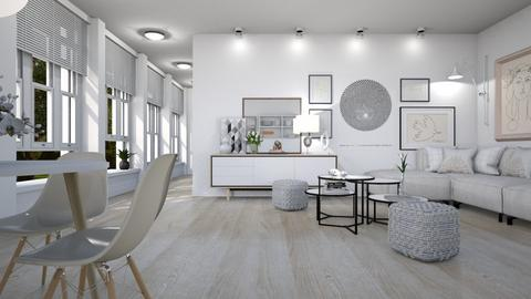 541 - Modern - Living room  - by Claudia Correia