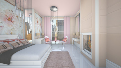 designer bedroom  - Glamour - Bedroom - by Unicorn_Nora_2003