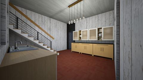 modern kitchen - Kitchen  - by Alba101