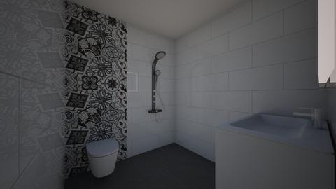 badkamer Pironstraat 2 - Bathroom  - by MelvinRijkenbarg