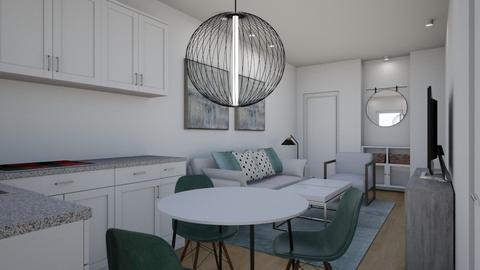 LERIDA 28 - Living room  - by Ro_ESC