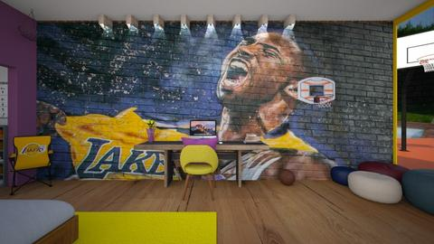 Lakers - by gaietta_aa