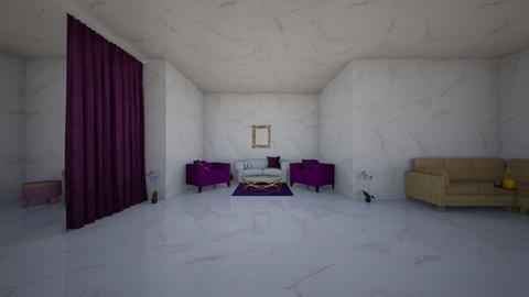 Purple White Gold - by HarryHoudini