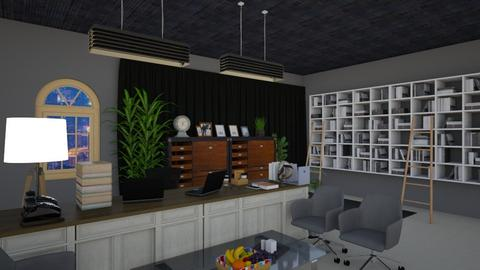 OFFICE PLAN FINISHED  - Office  - by LLOYDPAMORE