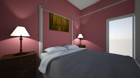 apartment bedroom - Vintage - Bedroom  - by rcostilla