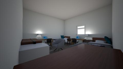 Home Ec Dorm room Brian  - Bedroom - by bmcquaide2