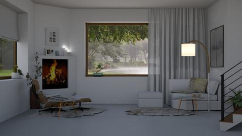 Bad Weather - Minimal - Living room  - by Claudia Correia