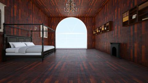 Forest House Bedroom 4 - Vintage - Bedroom  - by sarahbankz