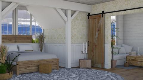 Autumn bedroom - Rustic - Bedroom  - by Wohooo