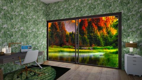 Green Leefs - Modern - Office  - by Itsavannah