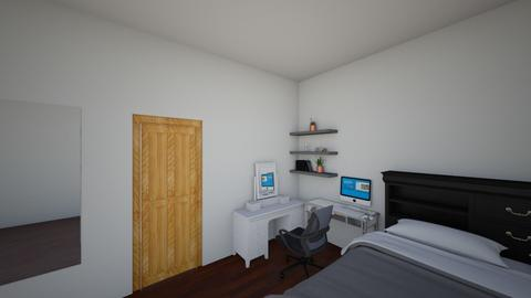 cata room - Modern - Bedroom  - by catbemoor