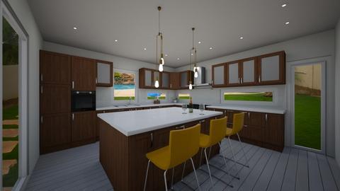 Amin Kitchen - by shweta_openremodel