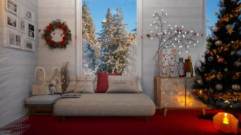 snow charismas room - Modern - Living room  - by malithu damsath