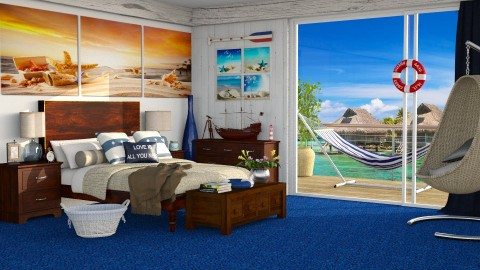 Nautical - Bedroom - by carina68