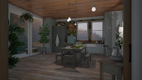 Nautical Kitchen - Modern - Kitchen  - by Sue Bonstra