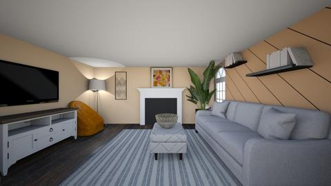 project 1 - Living room  - by gkrekeler