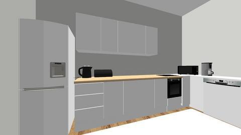 kuchnia nowa - Kitchen  - by klaudiaklepacka