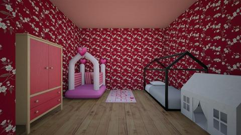 little girls room - Modern - Bedroom  - by charityu24