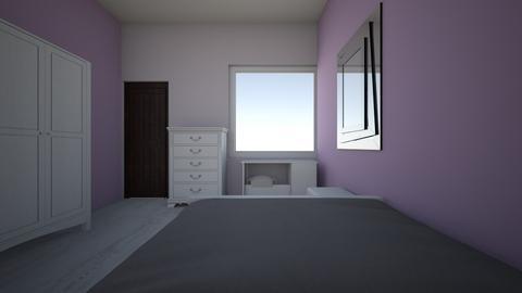 my room - Modern - Bedroom  - by BritneyEstefanyy