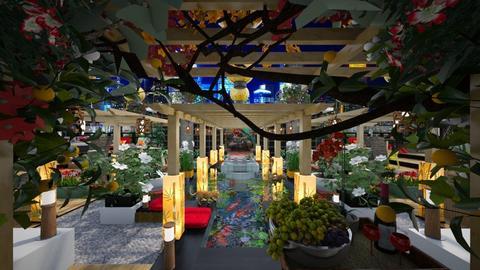 East Meets West Rooftop Garden - Garden  - by dZynerSuPreme