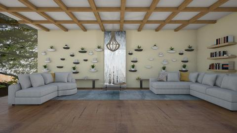 candle wood living - Country - Living room  - by aschaper