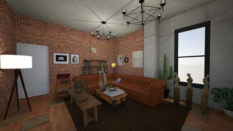 berkay - Living room  - by berkaycim