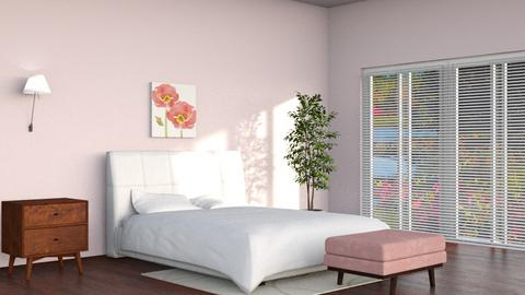 Blossom - Minimal - Bedroom  - by tanishaap