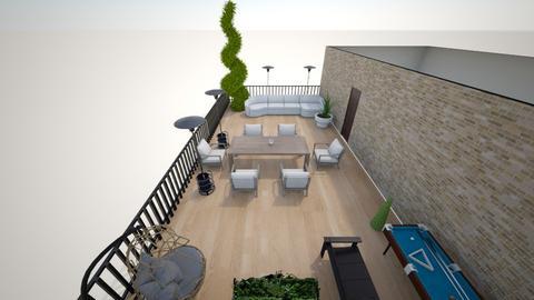 rooftop terrace - by maya00