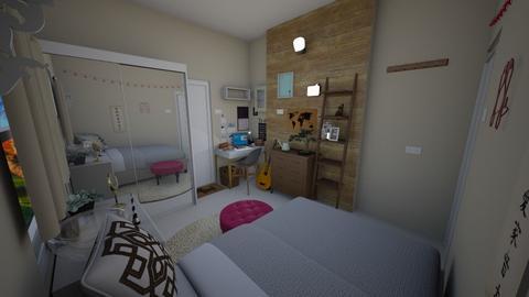 MyRoomView2 - Bedroom  - by Kat998