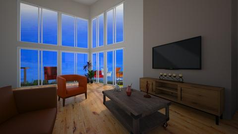 Lorena Carrera - Living room - by carrerarquitectura