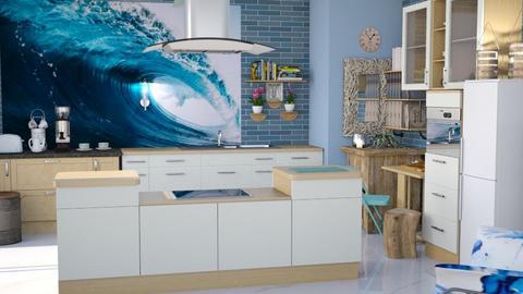 Ocean kitchen - Kitchen  - by augustmoon